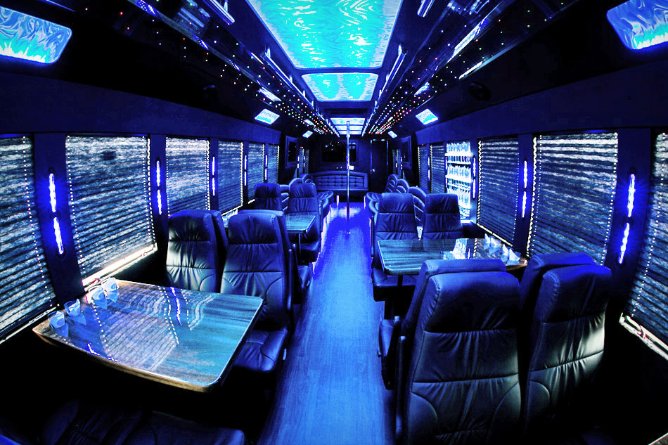 Ground Force Custom Party Bus From Jmi Limousine In Portland