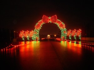 Winter Wonderland Holiday Light Show Portland International Raceway