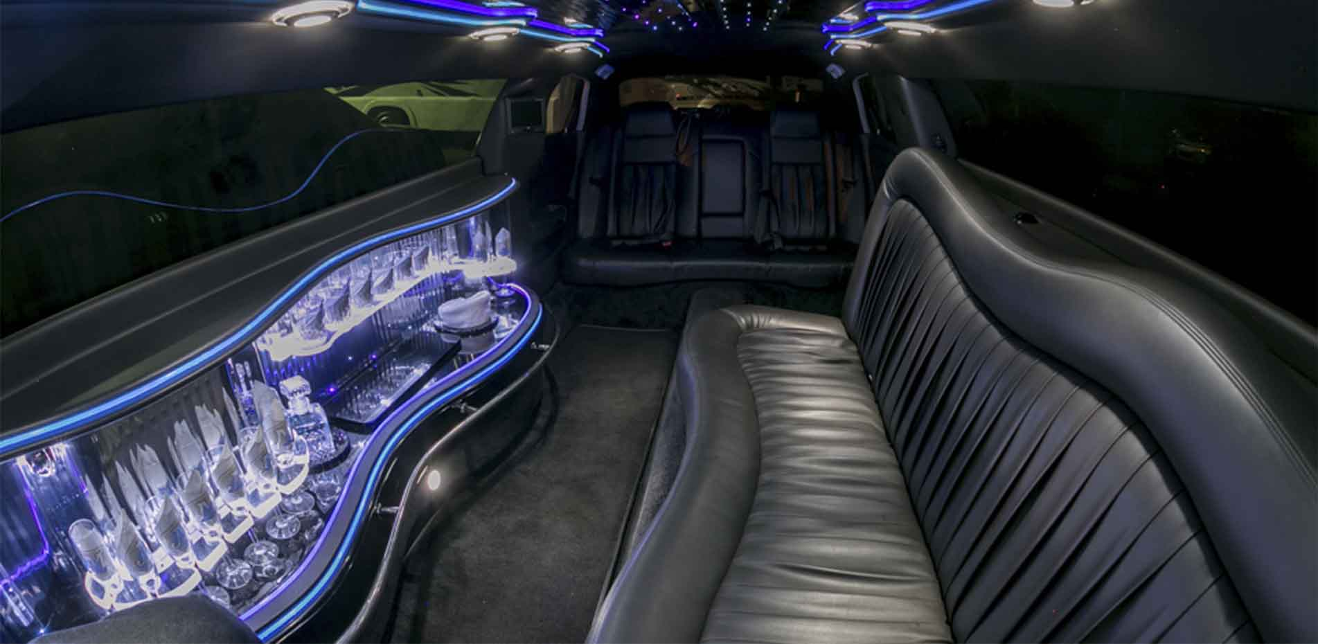 Executive Limo Bus