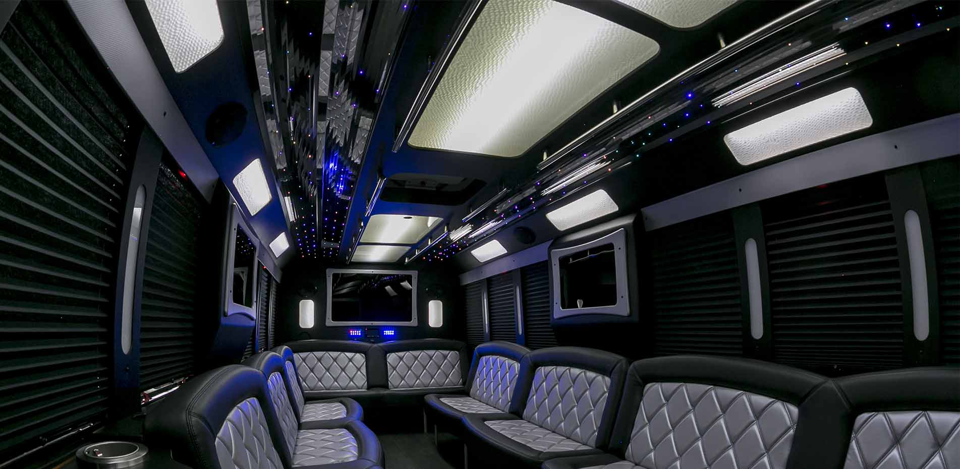 Deluxe Limo Bus